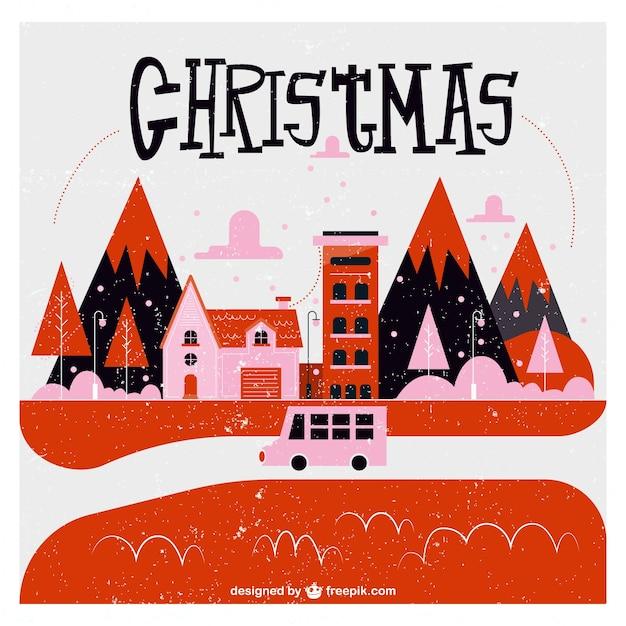free christmas village clipart - photo #50