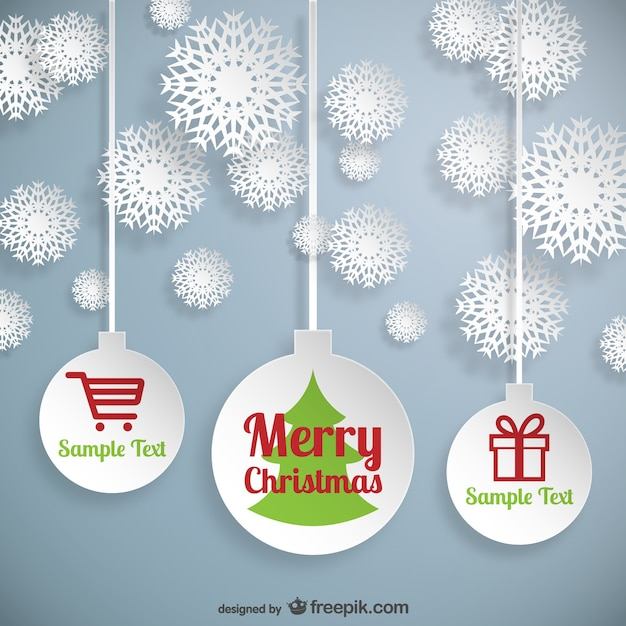 Christmas web elements vector