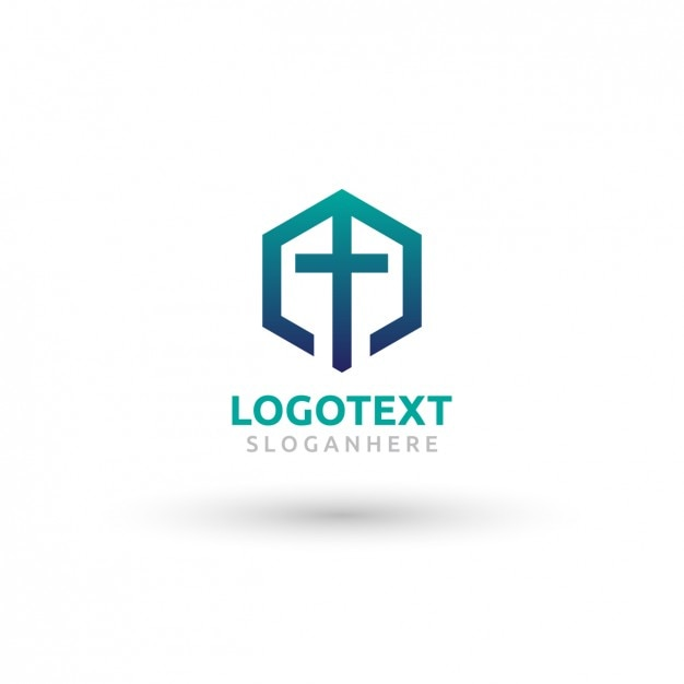 church logo template free vector