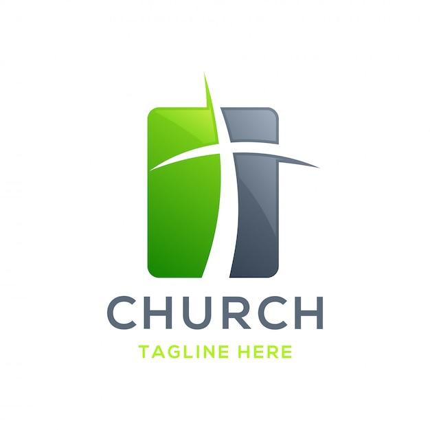 Church logo Premium Vector