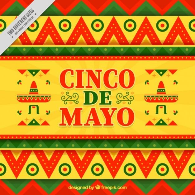 Cinco De Mayo Background Vector | Premium Download