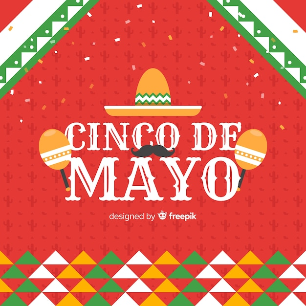Cinco de mayo Free Vector