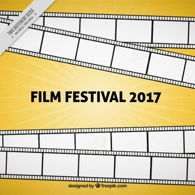 Cinema event 2017 background Free Vector