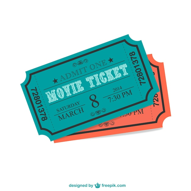 Cinema ticket vector free download cinema ticket free vector stopboris Image collections