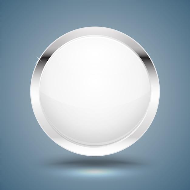 Circle Modern Frame 3d Style.