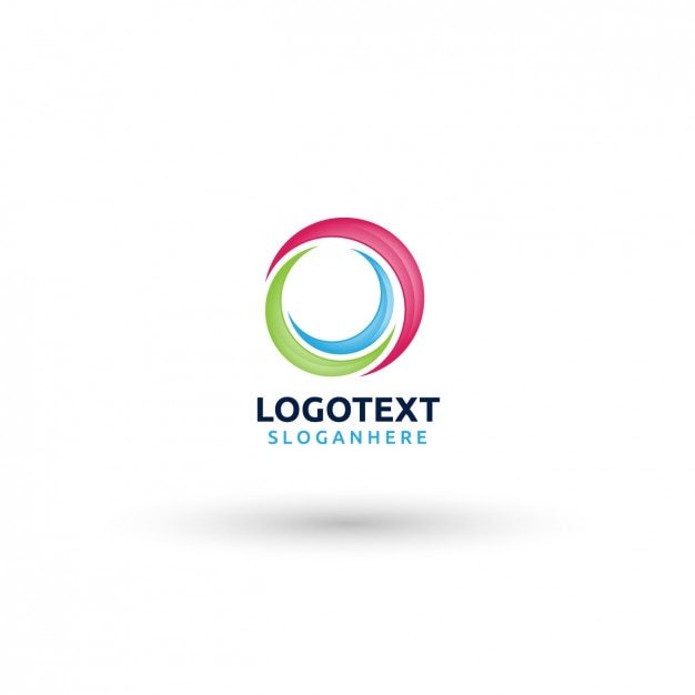 circular logo template vector free download