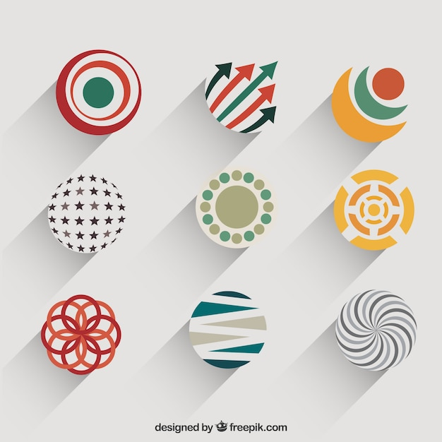 Abstract Circular Logo Design