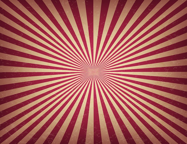 Circus or carnival template of swirl stripes. old texture retro cinema sign background Premium Vector