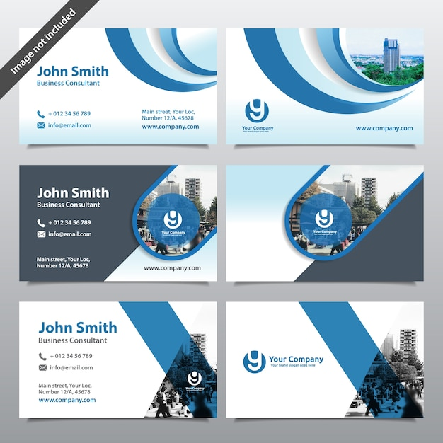 City Background Business Card Design Template. Can Be Adapt To Brochure,  Annual Report,  Company Portfolio Template