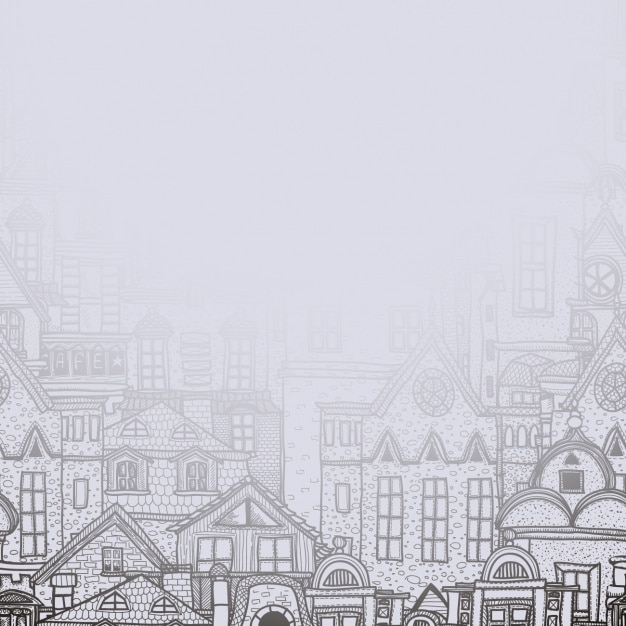 Городские здания дизайн фона Бесплатные векторы