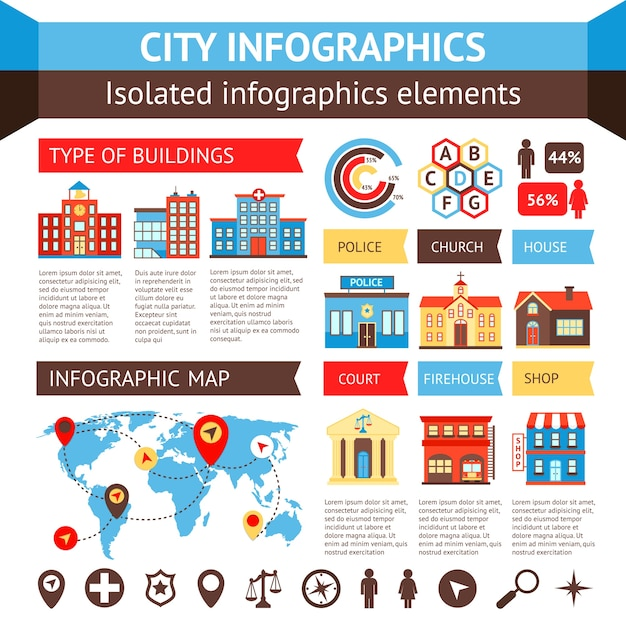 City government building infographic set with charts and world map city government building infographic set with charts and world map vector illustration free vector gumiabroncs Images