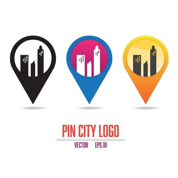 city logos vector free download