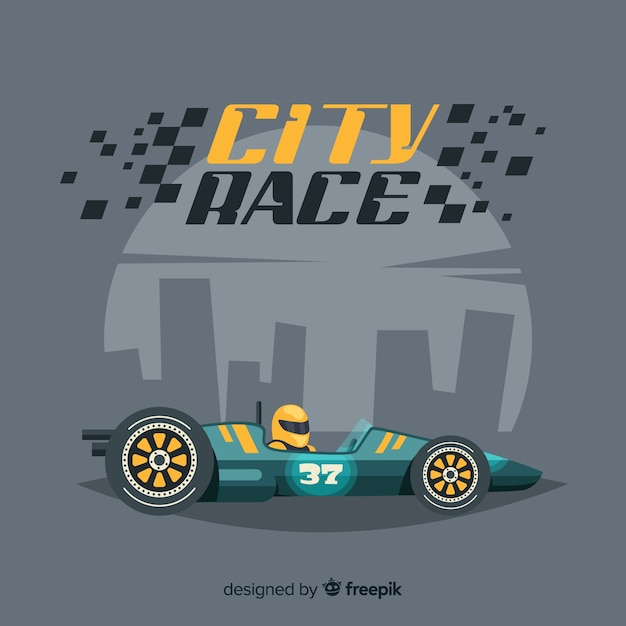 City race background