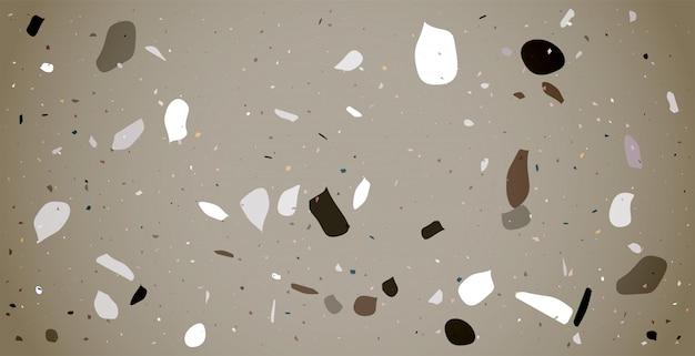 Claasic 테라 바닥 패턴 질감 배경 디자인 무료 벡터
