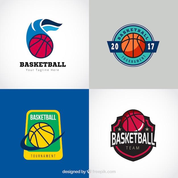 classic basketball logo collection vector free download basketball logo creator online basketball logo create