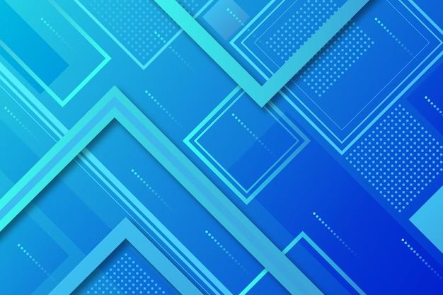 Stile classico sfondo blu astratto con quadrati Vettore gratuito