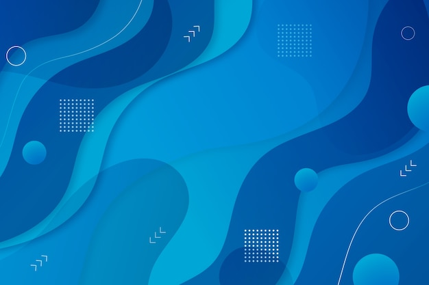 Classic blue background abstract style Free Vector