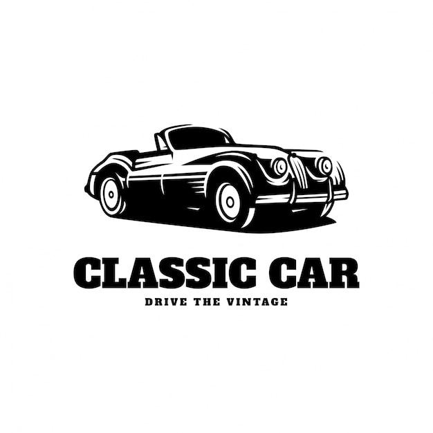 Classic Car Logo Vector Premium Download