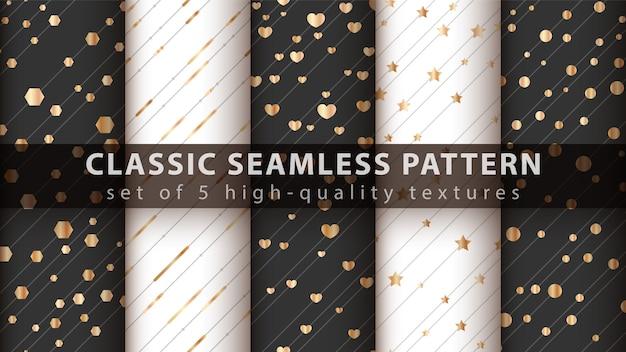 Classic seamless pattern Premium Vector