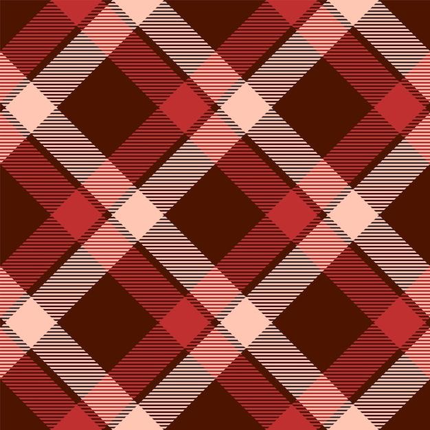 Classic tartan and buffalo check plaid seamless patterns. Premium Vector