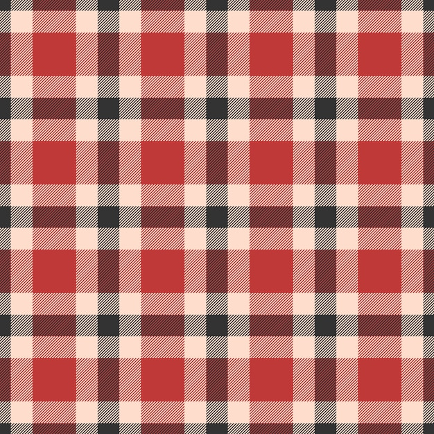 Classic tartan, gingham, buffalo, lamberjack, merry christmas check plaid seamless pattern Premium Vector