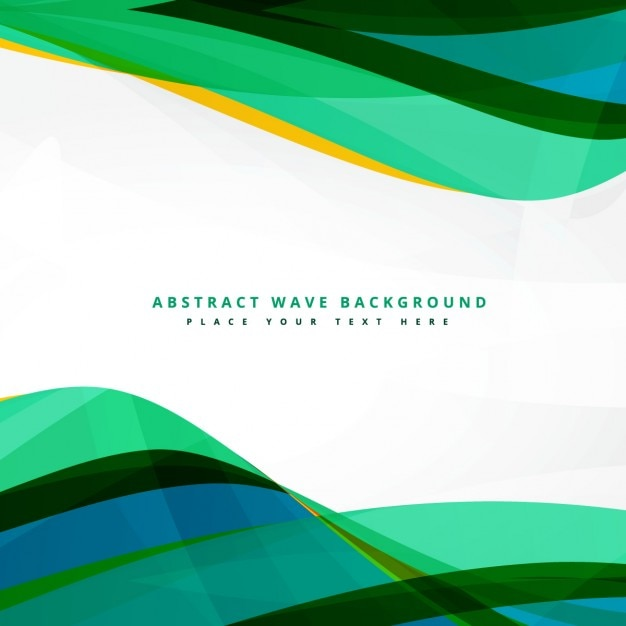 wavy green background vector - photo #12