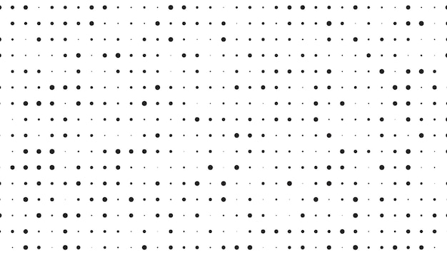 Clean halftone pattern Free Vector