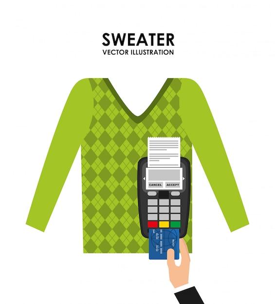 Clothing concept Premium Vector