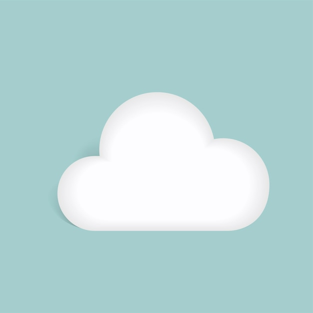 Cloud Free Vector