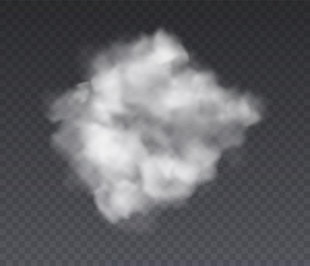 Эффект облачности. химия стоя туман и белый дым Premium векторы