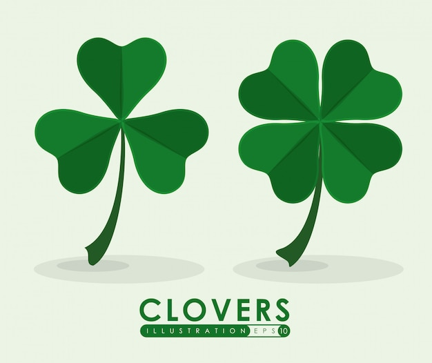 Clover icon Premium Vector