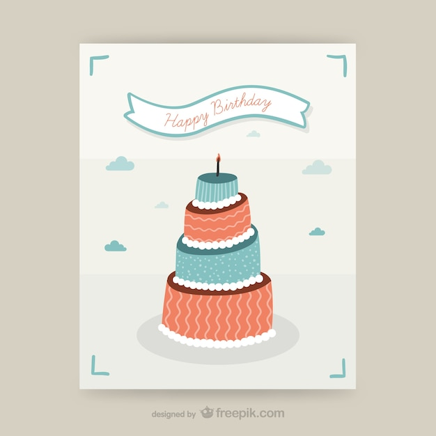 Cmyk birthday card design vector free download cmyk birthday card design free vector bookmarktalkfo Image collections