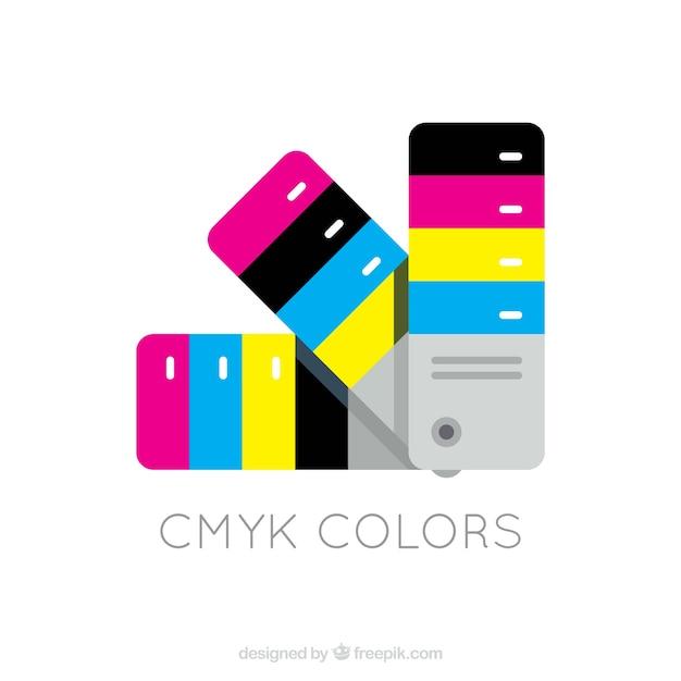 CMYK Chart Vector | Free Download
