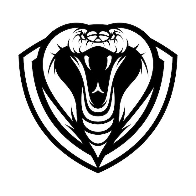 cobra animal sport mascot head logo vector vector premium download rh freepik com cobra logo vector cobra logistics inc