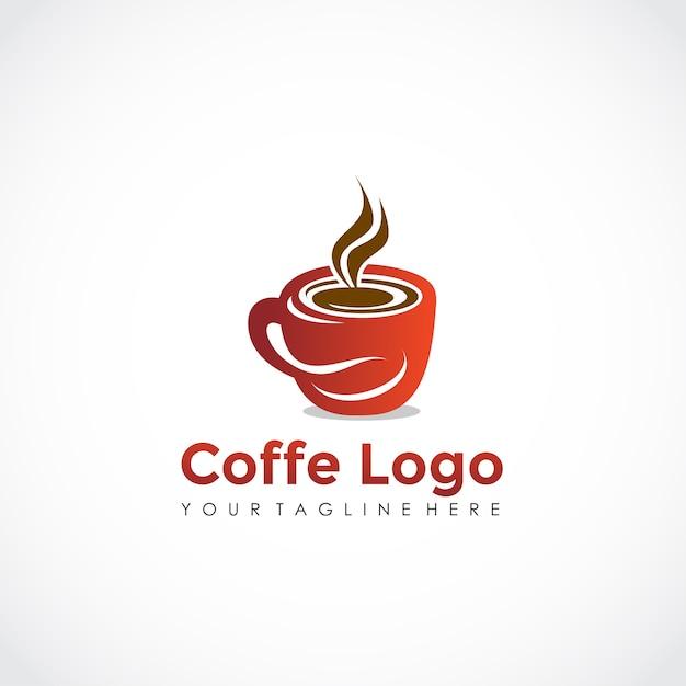 Coffe Logo Design Premium Vector