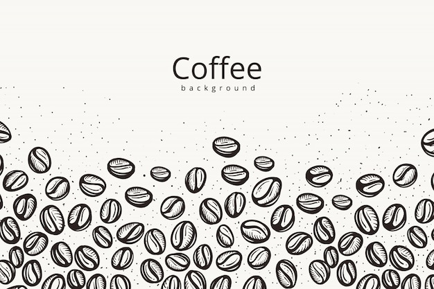 premium vector coffee beans background https www freepik com profile preagreement getstarted 5770495