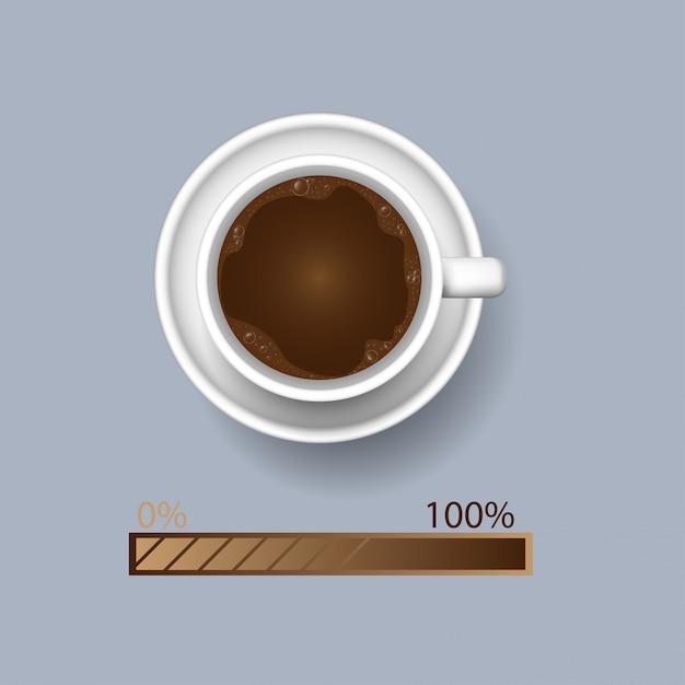Coffee cup Premium Vector