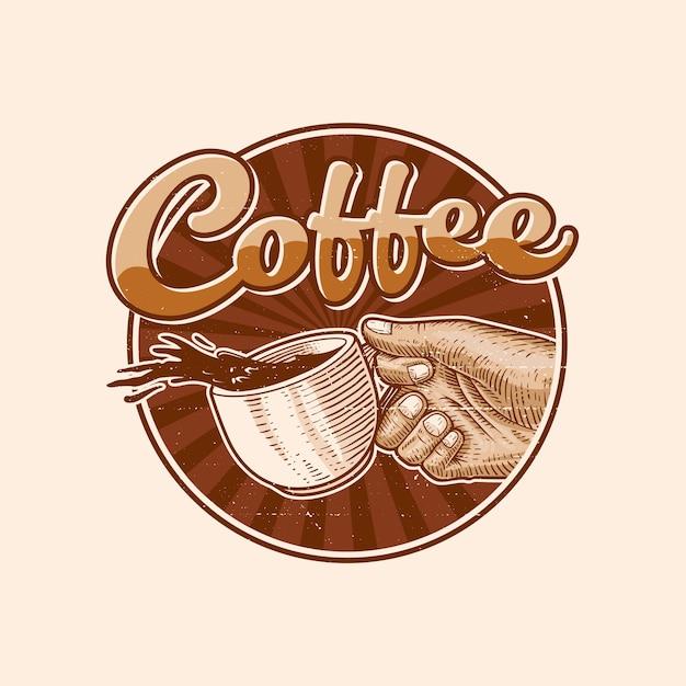 Coffee logo illustration Premium Vector