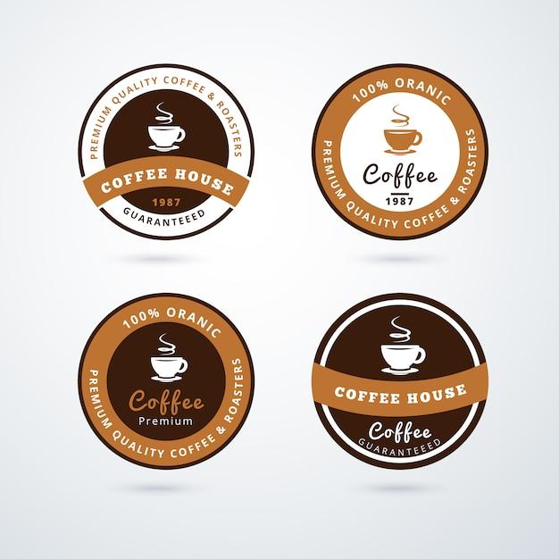 Premium coffee brands logos