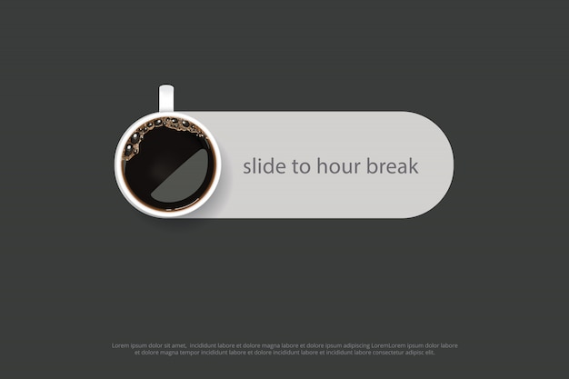 Coffee poster advertisement flayers vector illustration Premium Vector