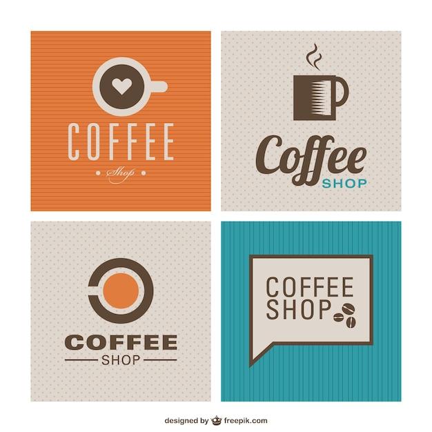 Coffee shop flat design Free Vector