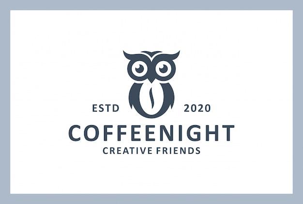Coffee shop logo design in vintage style Premium Vector