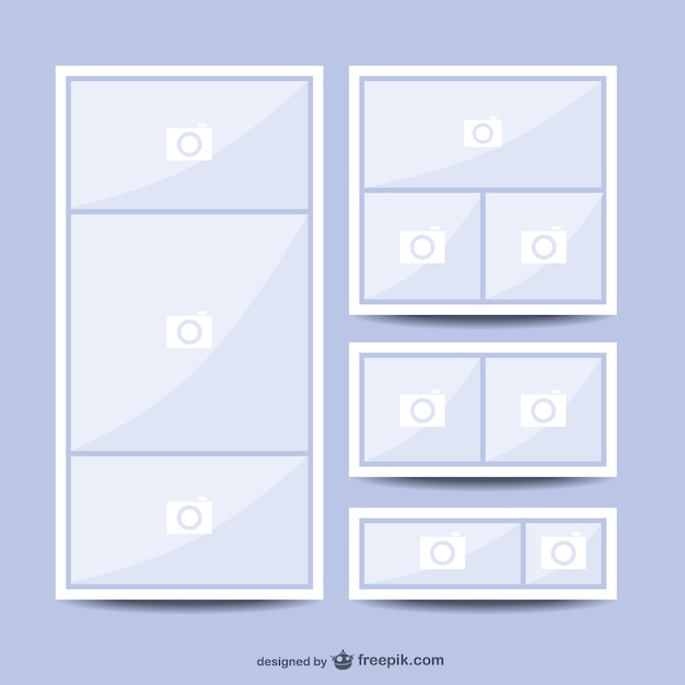 Collage Template Vectors Photos And Psd Files  Free Download
