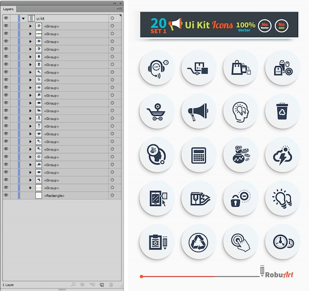 Collection of business, shopping icons such as tag, sticker, basket in black color. Premium Vector