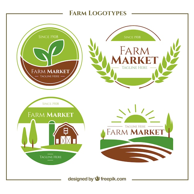 logo for farmers