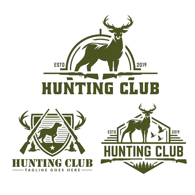 Hunting Logo Vectors Photos And Psd Files Free Download