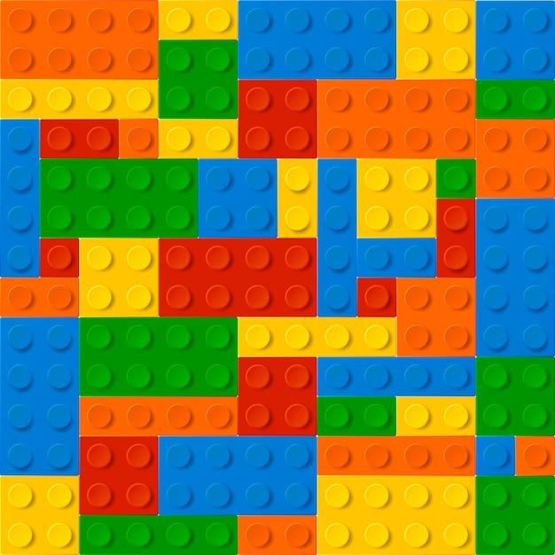 Collection lego Premium Vector