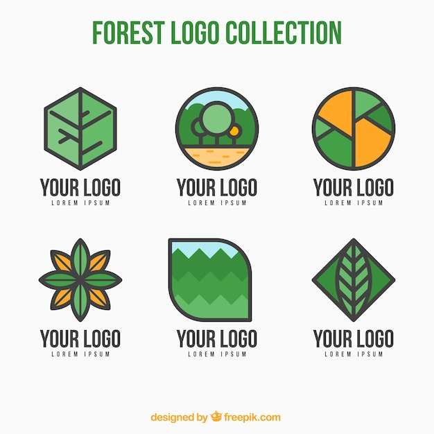 Collection Of Linear Nature Logos Stock Images Page Everypixel
