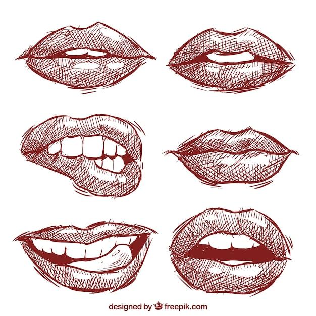 lips stencil outline wwwpixsharkcom images galleries