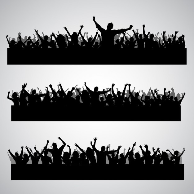 Crowd Vectors, Photos and PSD files | Free Download